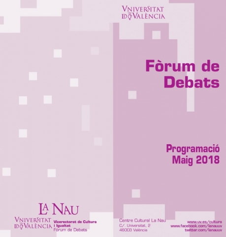 Forum Debat, maig 2018, portada