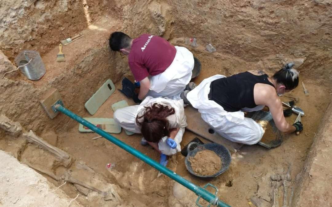Se retoman los trabajos de excavación en la Fosa 128
