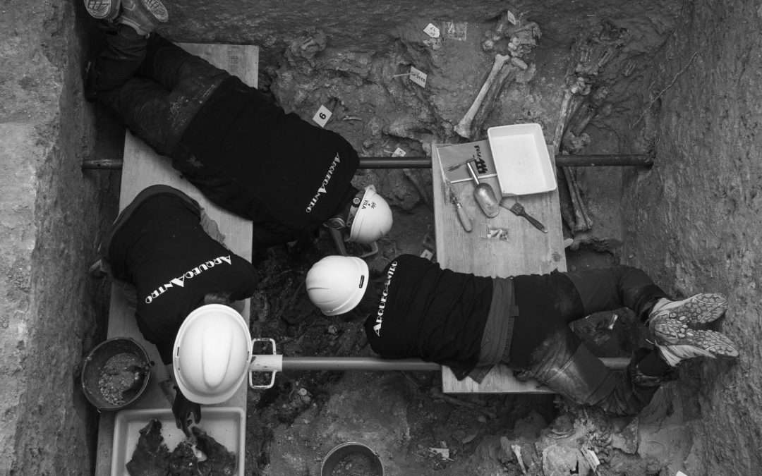 Avanzan los trabajos en la Fosa 114 (Cementerio de Paterna)
