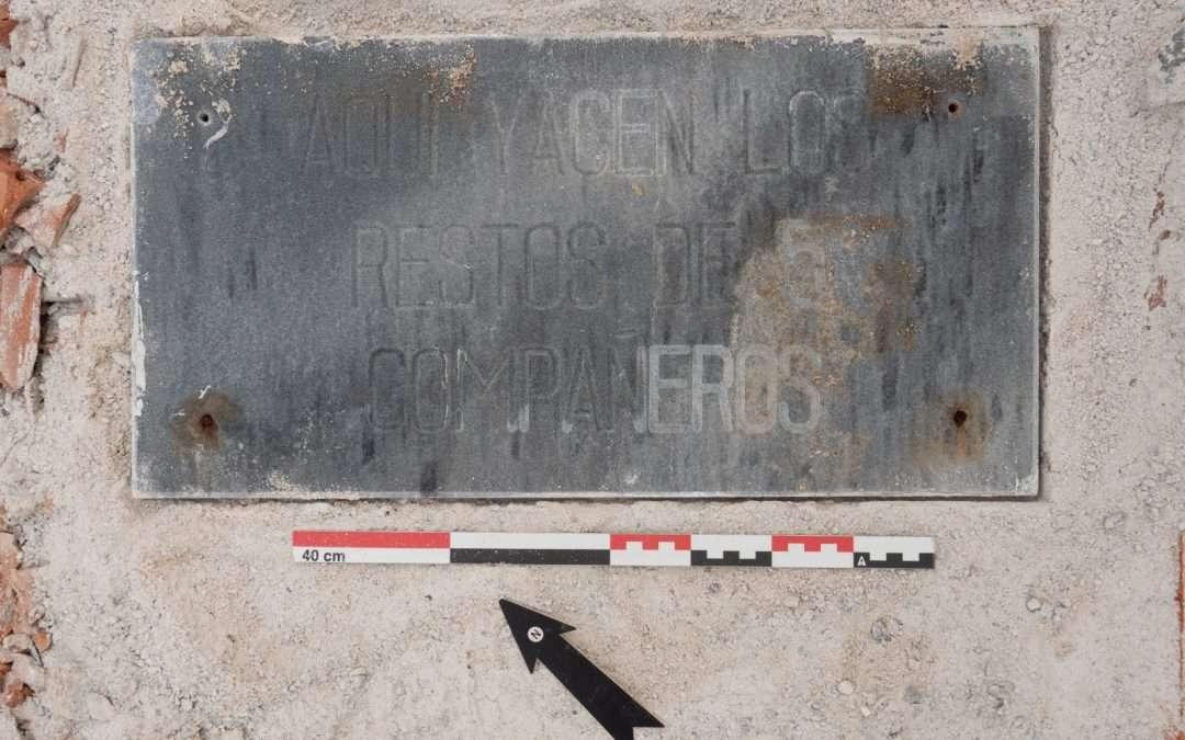 Fin de excavación en Cúllar (Granada).
