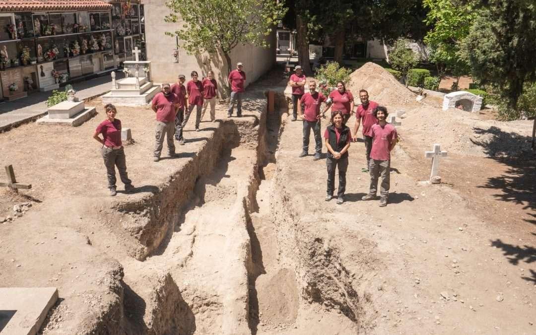 Localizados los restos óseos de 9 víctimas de la represión Franquista en el Cementerio de Nigüelas (Granada)